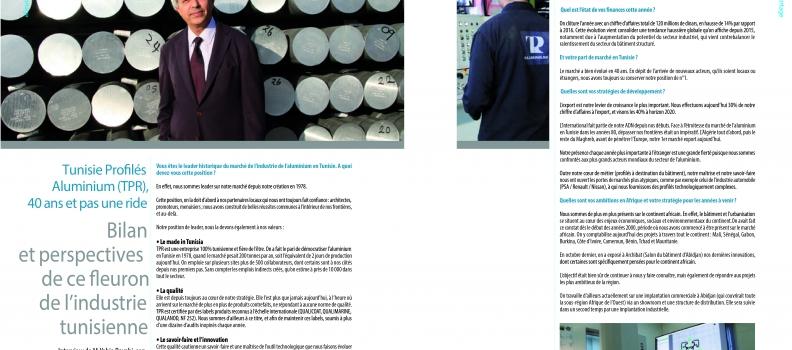 Interview de M. Yahia BAYAHI dans le magasine LEADERS