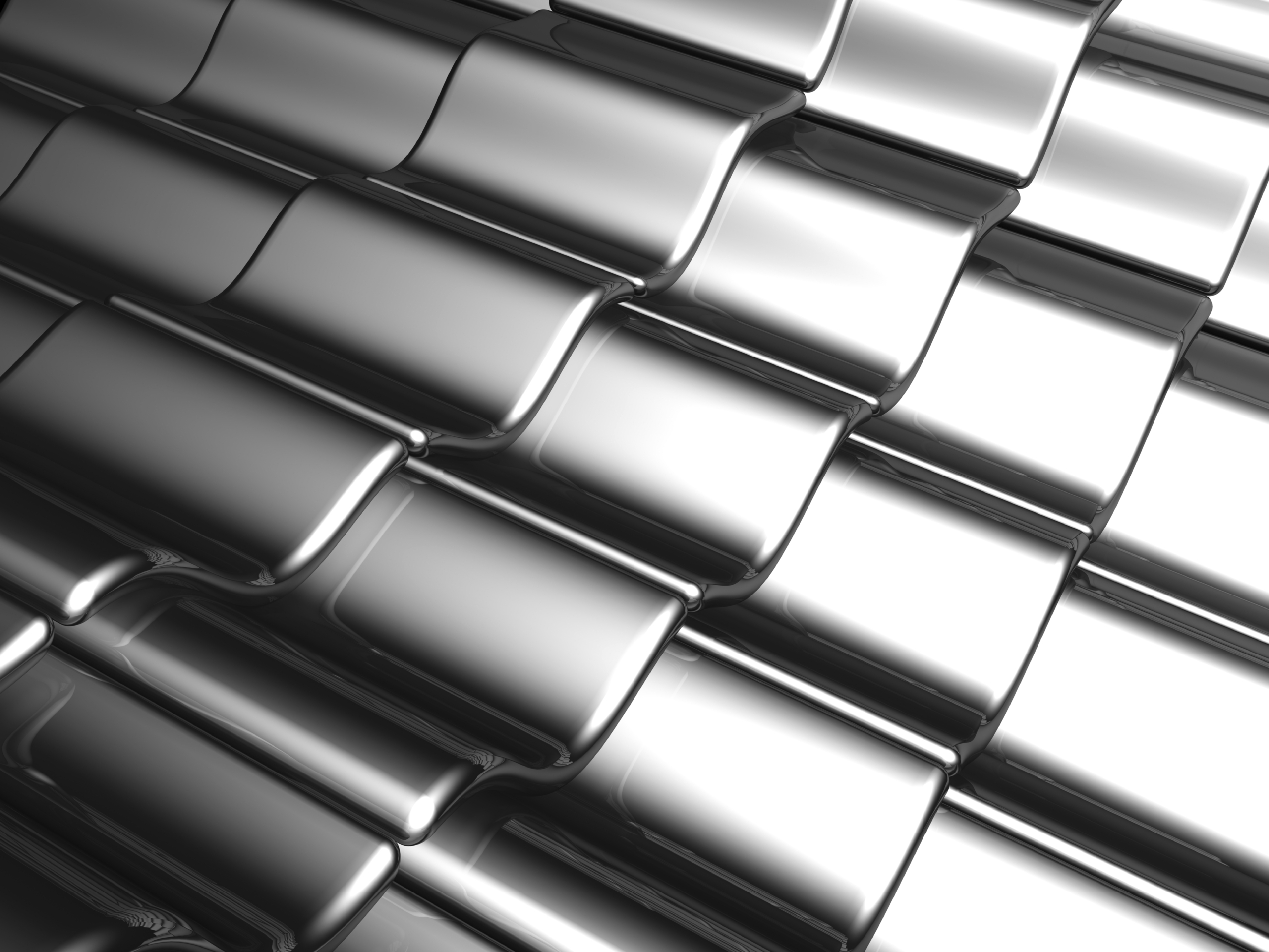 Aluminum-Silver-Tile-Background