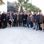 Photo de groupe journée rencontre et échange labellisation menuisiers TPR