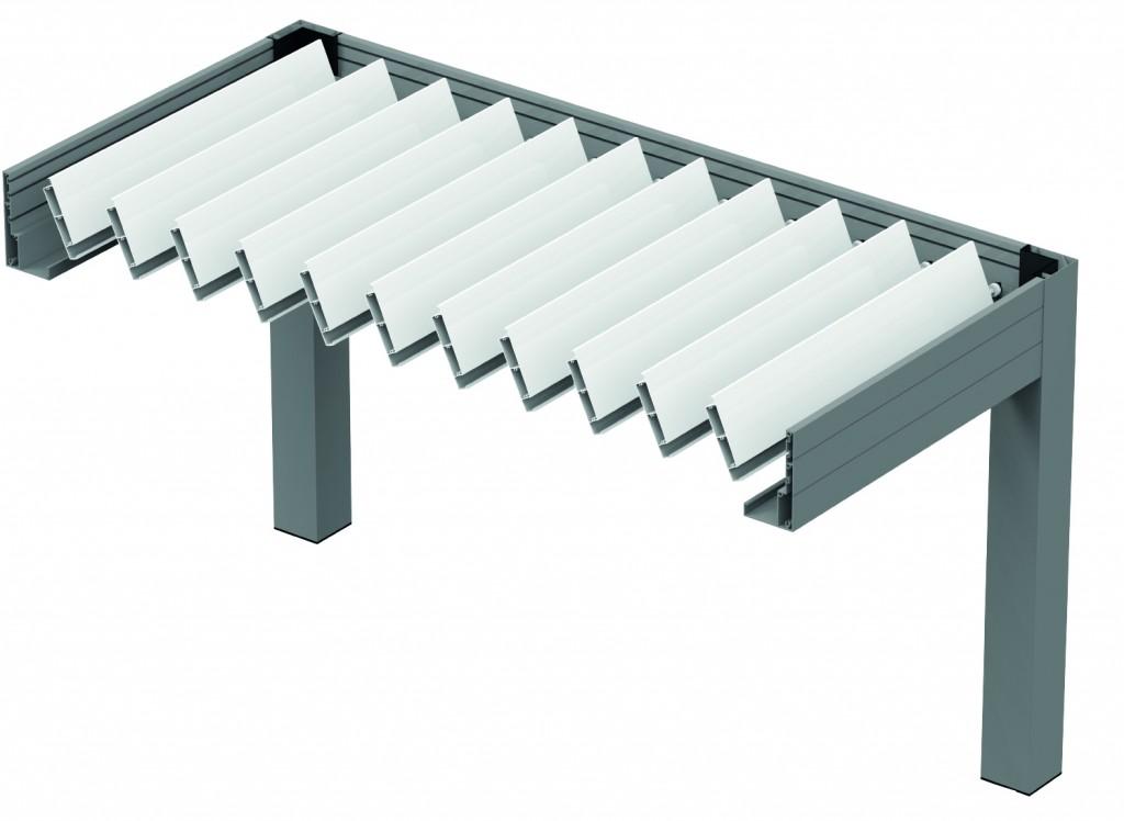 Pergola Bioclimatique Tpr 19 Tunisie Profiles Aluminium