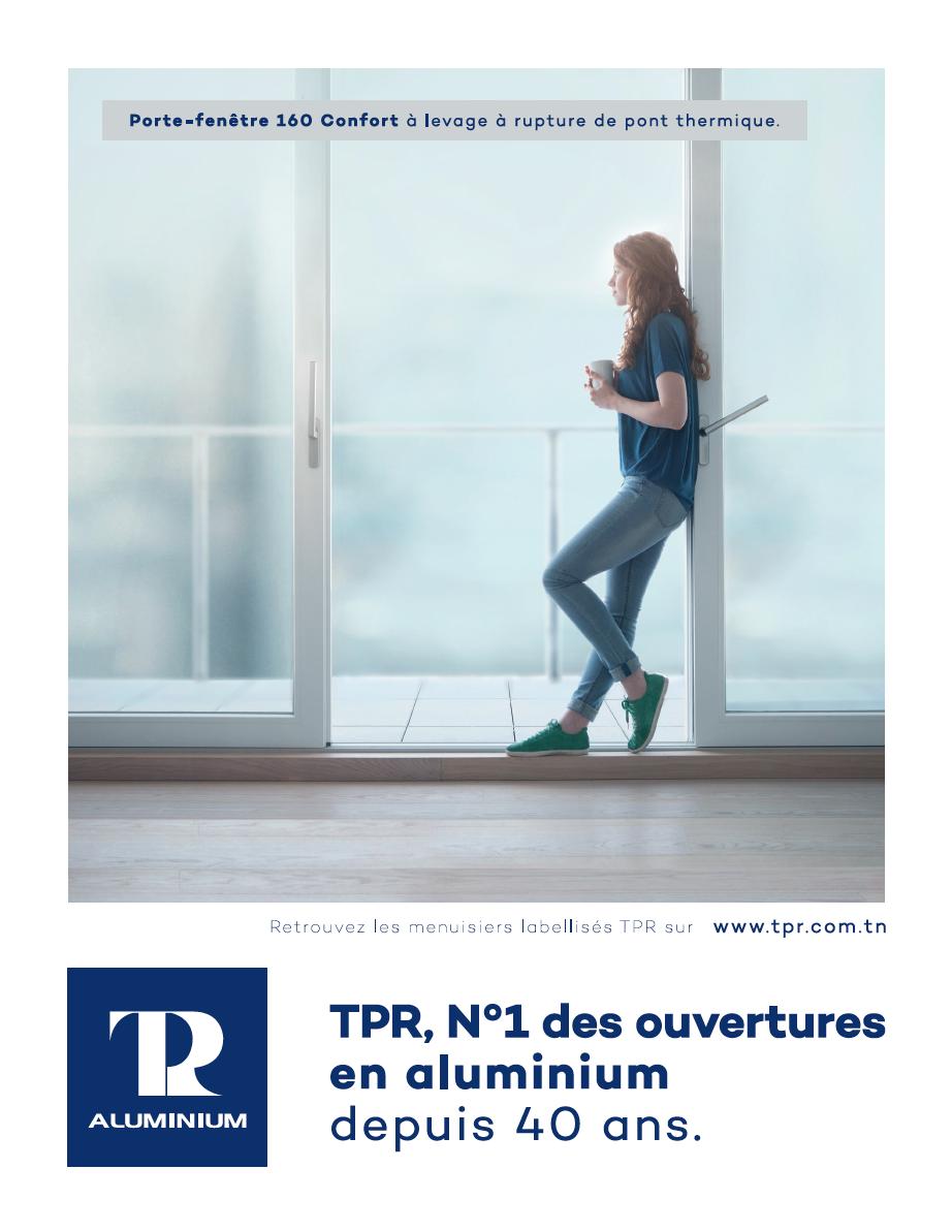 TPR N°1 des ouvertures en aluminium depuis 40 ans
